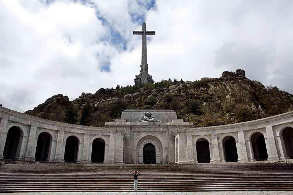 Valle de los Caídos, lugar donde está la tumba de Franco. FOTO: Reuters