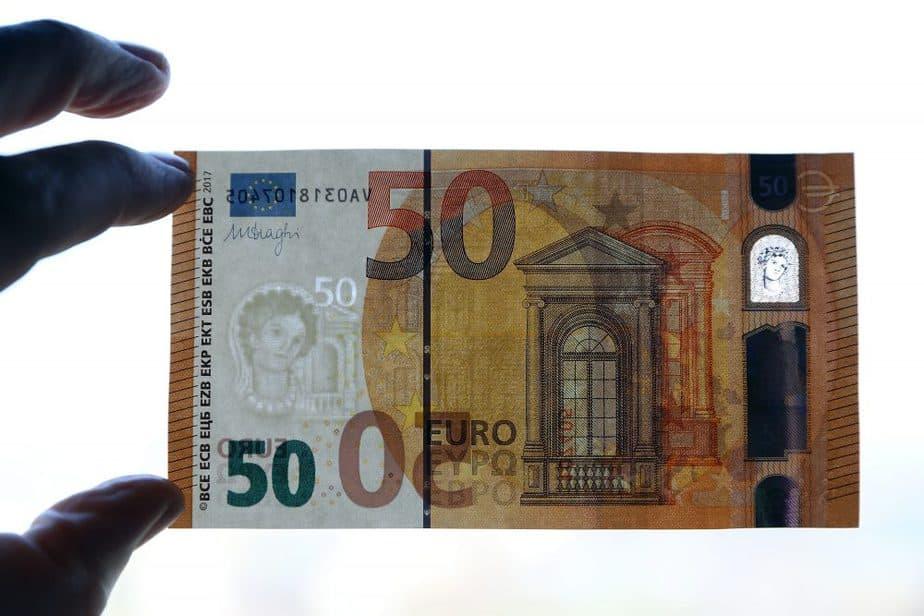 Nuevo billete de 50 euros. FOTO: Reuters