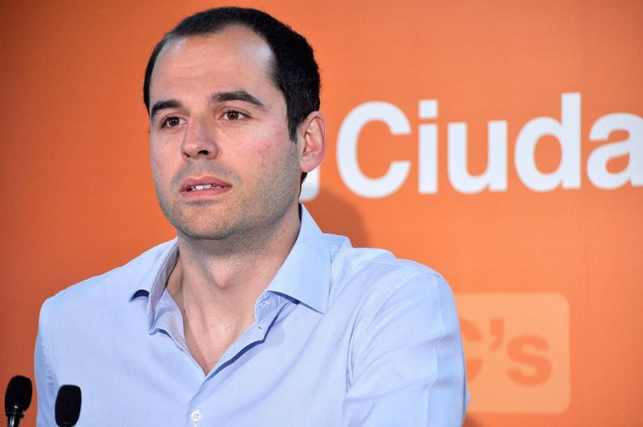 El líder de Ciudadanos en Madrid, Ignacio Aguado. FOTO: Ciudadanos