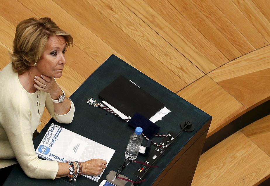 Esperanza Aguirre. FOTO: Reuters