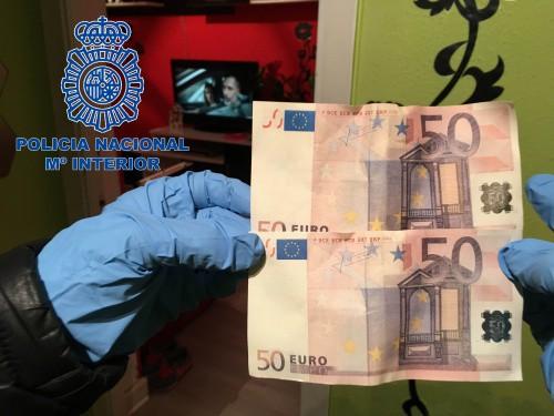 Billetes falsos. FOTO: Policía