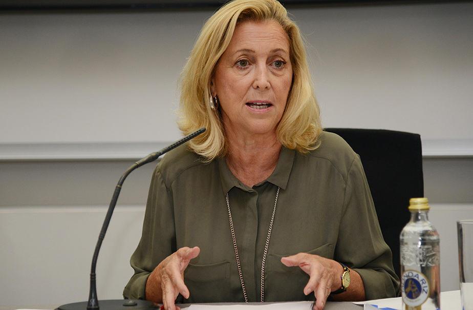 La delegada del Gobierno en Madrid, Concepción Dancausa. FOTO: Ayuntamiento de Madrid