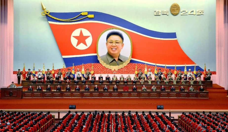 Reunión del Partido Comunista de Corea del Norte. FOTO: Reuters