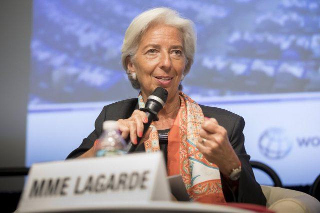 La directora el FMI, Christine Lagarde, ha insistido en la necesidad de eliminar el exceso de temporales del mercado laboral español/Archivo