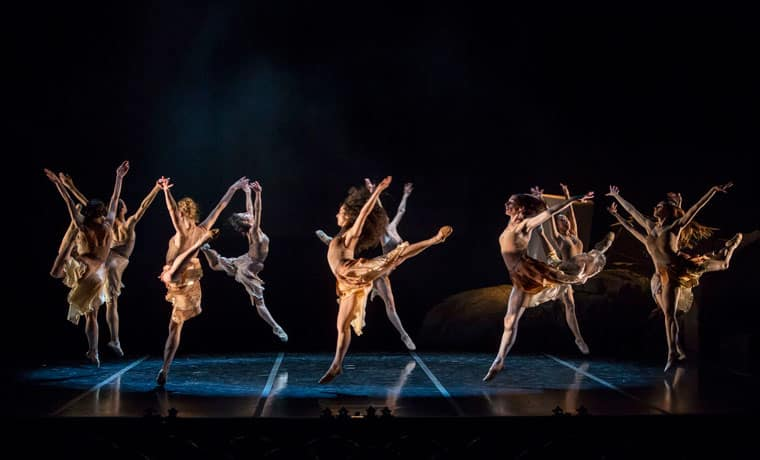 espectaculo de danza de Bejart
