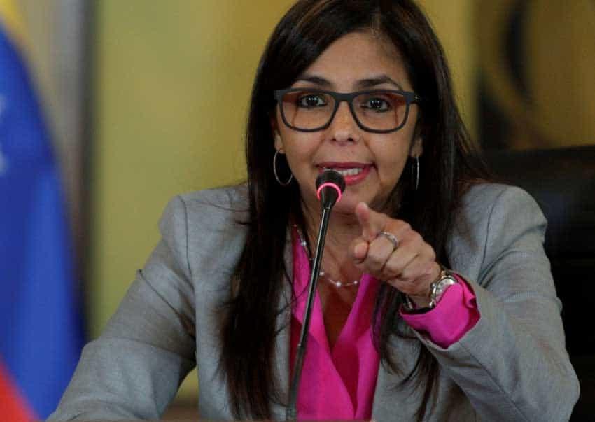 La presidenta de la Constituyente, Delcy Rodríguez