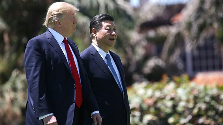 """Trump ve un acuerdo comercial con China y su """"amigo"""" Xi"""