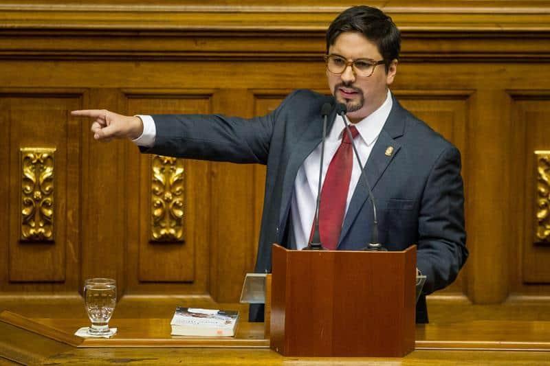 Freddy Guevara, vicepresidente del Parlamento de Venezuela