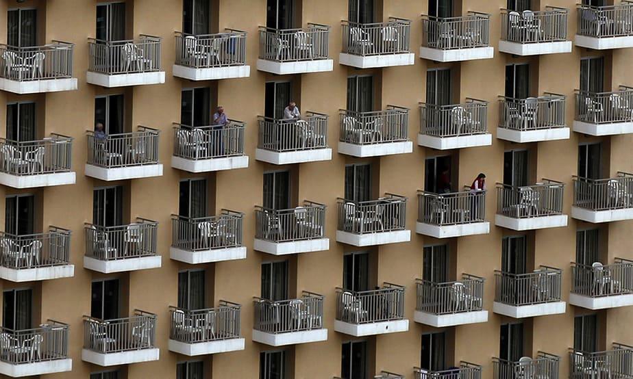 Hotel en Benidorm. FOTO: Reuters