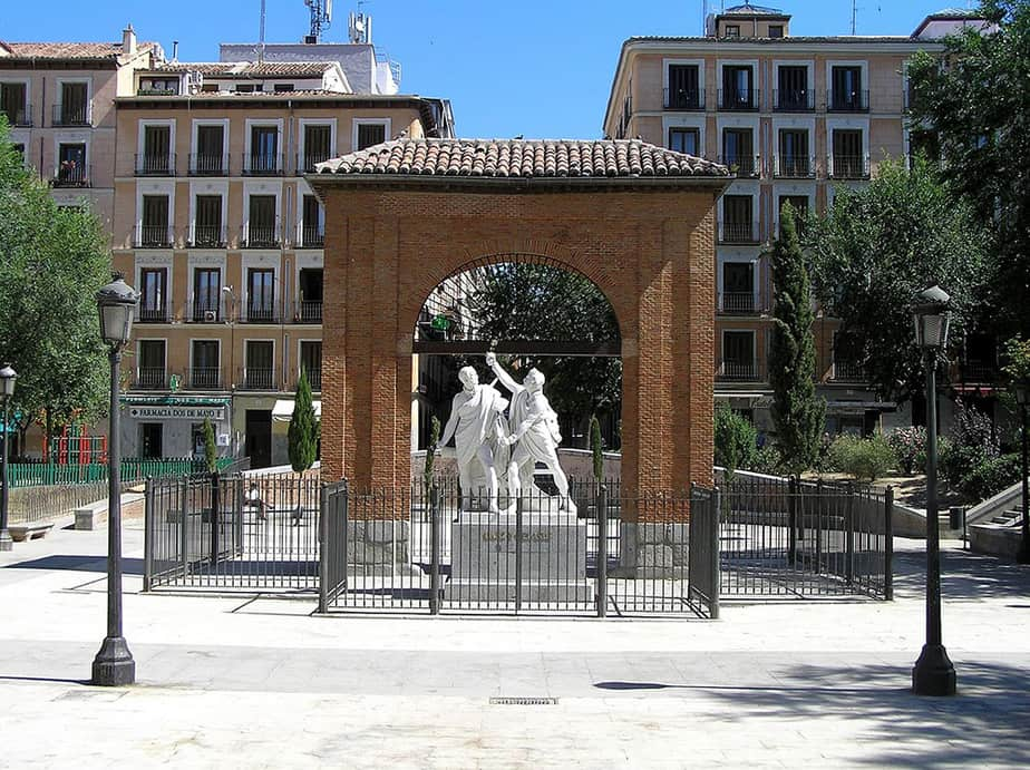 Plaza del 2 de Mayo de Madrid.