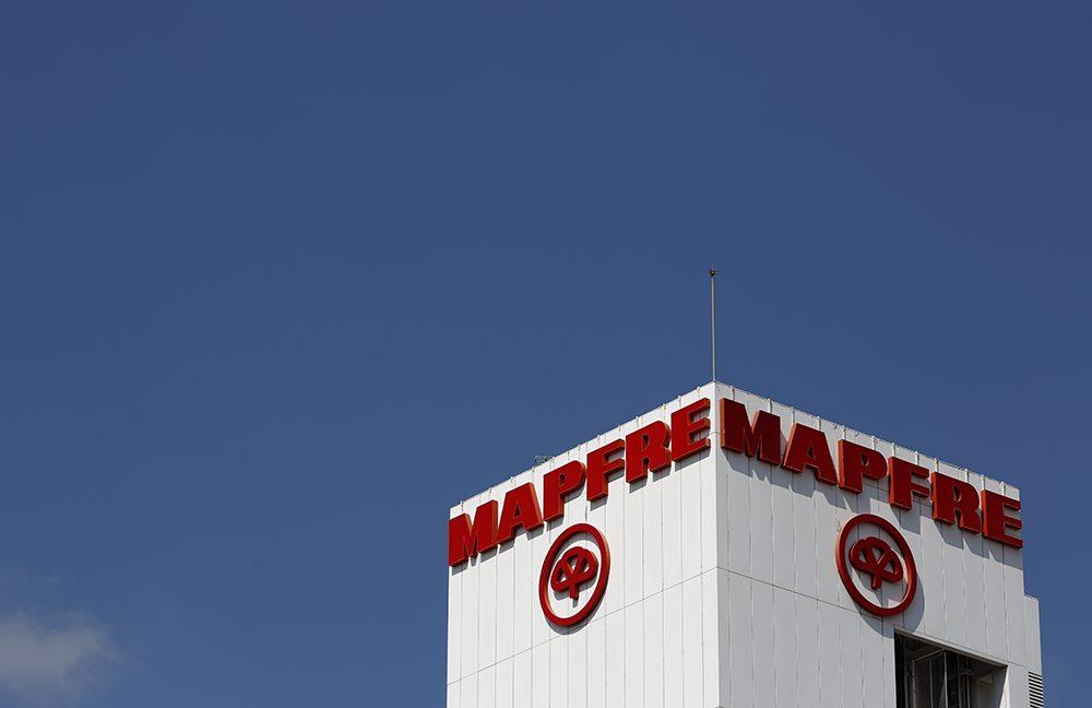 Logotipo de Mapfre.