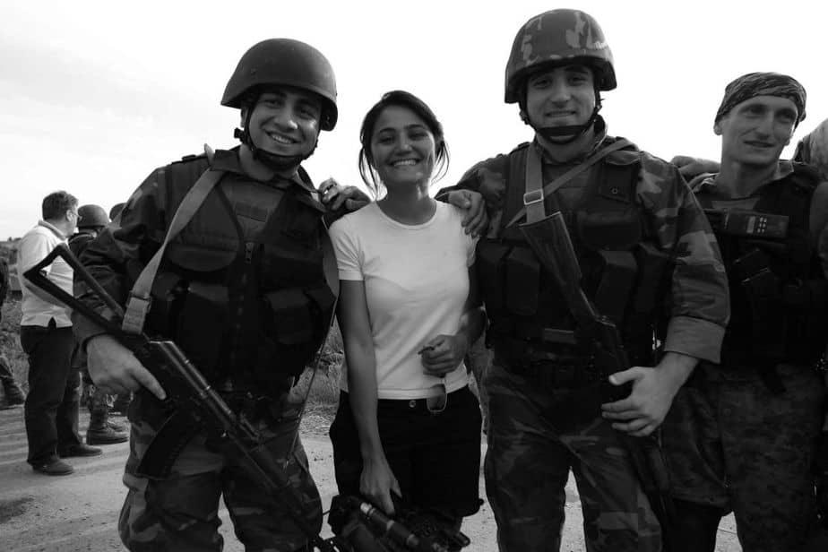 La periodista Mayte Carrasco.