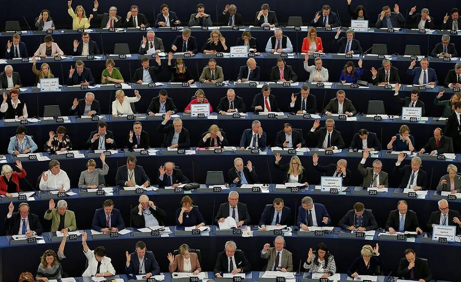 Eurodiputados del Parlamento Europeo. FOTO: Reuters