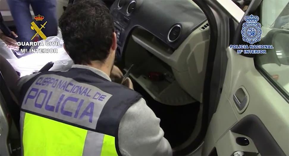 Operación de la Policía.