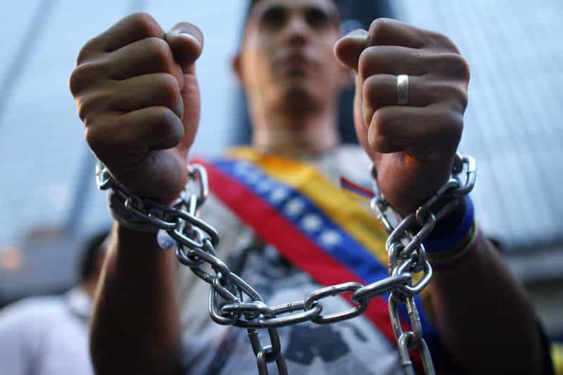 Según la ONG Foro Penal, en Venezuela hay 236 presos políticos. La CIDH pidió una vez más visitar Venezuela para evaluar su crisis/Archivo