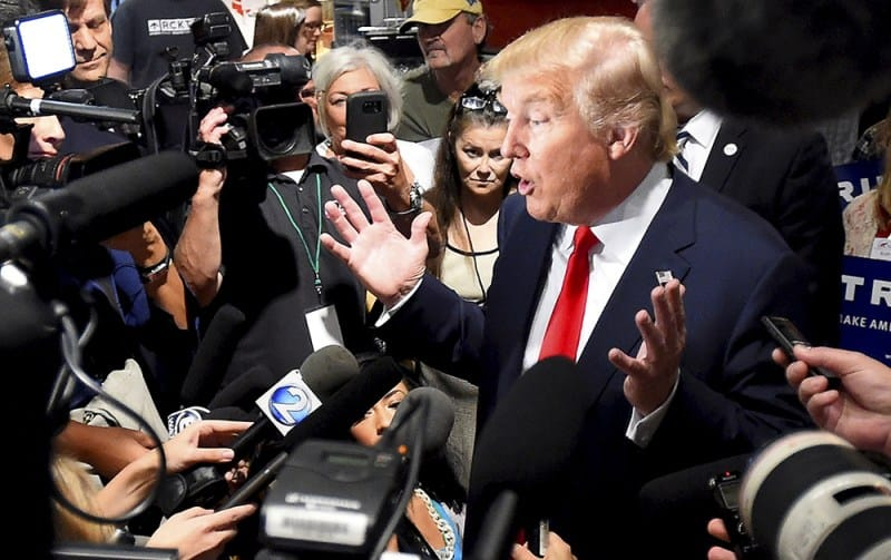 El presidente estadounidense Donald Trump. FOTO: Reuters