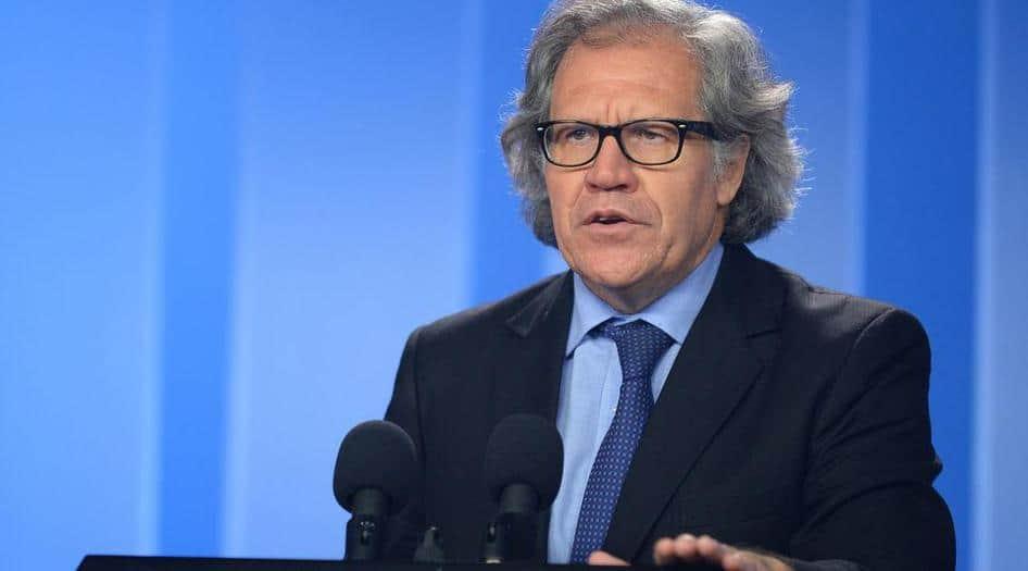 Almagro pide una intervención en Venezuela y más sanciones