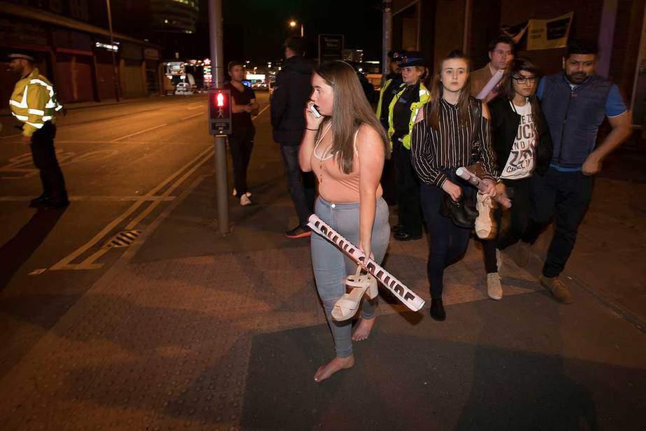 Ataque terrorista en el concierto de Ariana Grande en Manchester. (22/05/2017) Reuters