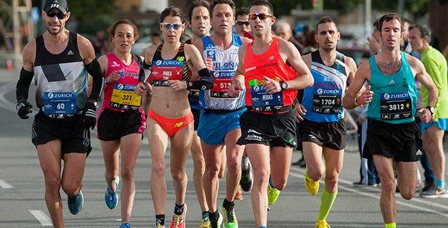 Los atletas trabajan el control de la respiración como un elemento fundamental