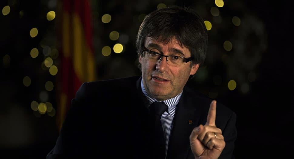 Puigdemont ha pedido amparo al Parlament para acudir a la investidura