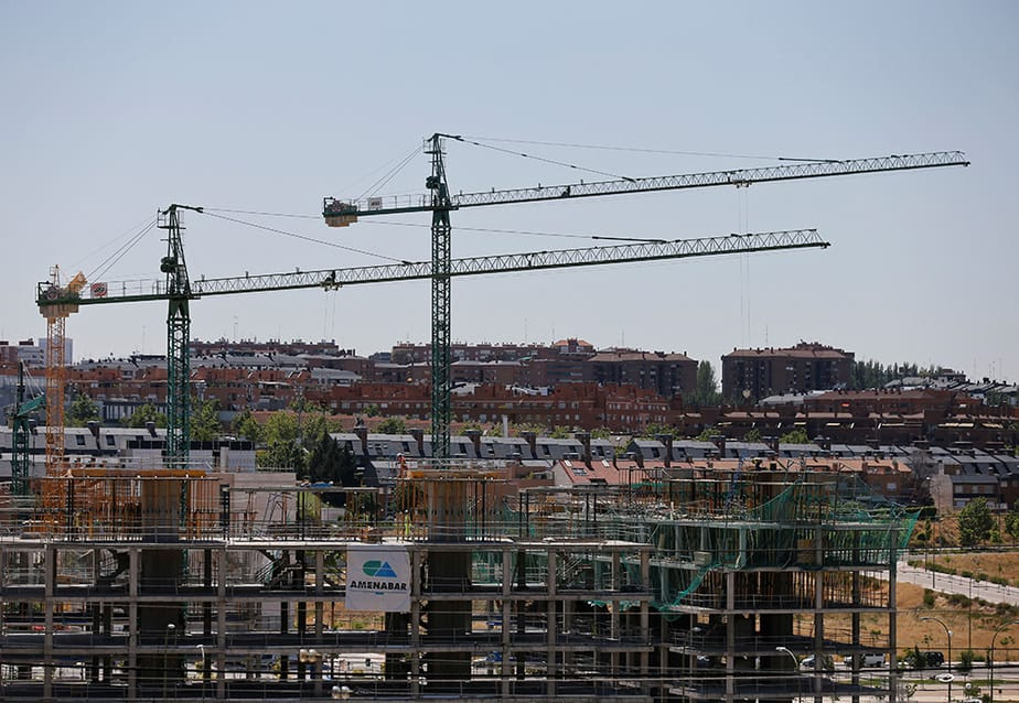Construcción de viviendas. FOTO: Reuters