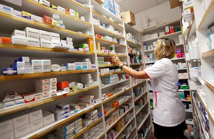 Farmacia. FOTO: Reuters