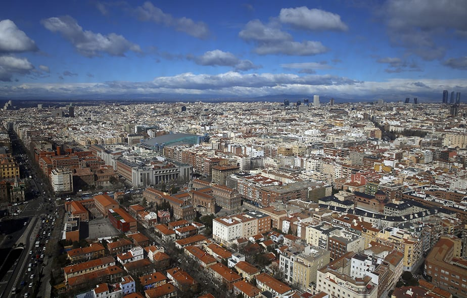 Vista de Madrid.