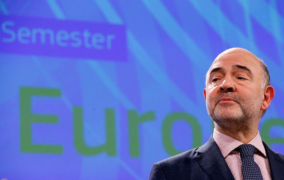 El comisario europeo de Economía, Pierre Moscovici. FOTO: Reuters