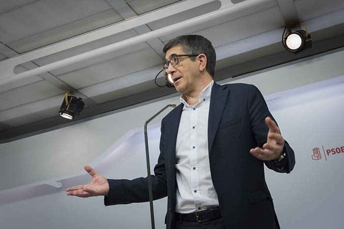 Patxi López, candidato a las primarias del PSOE. FOTO: Flickr Patxi López