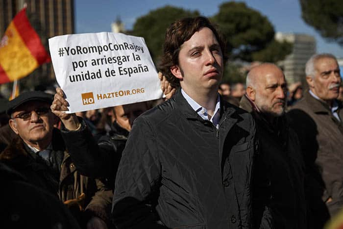 Francisco Nicolas Gomez Iglesias, conocido como el 'pequeño Nicolás'. FOTO: Reuters