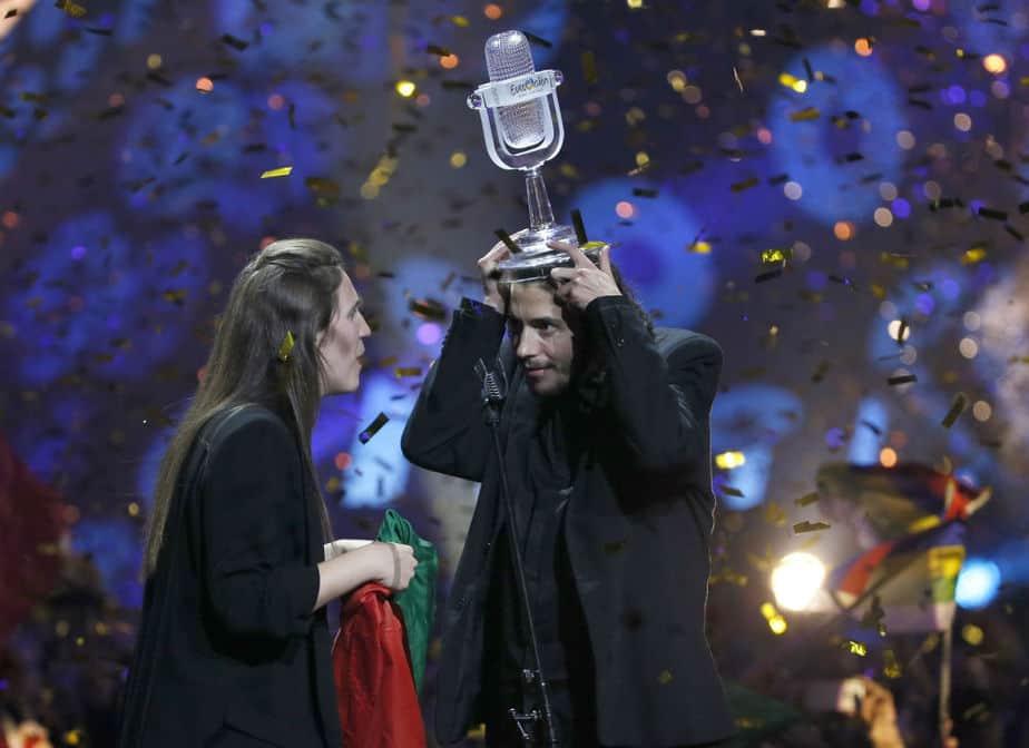 Portugal, ganador de Eurovisión 2017. FOTO: Reuters