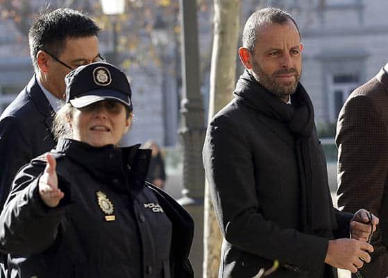 El expresidente del Barça Sandro Rosell. FOTO: Reuters