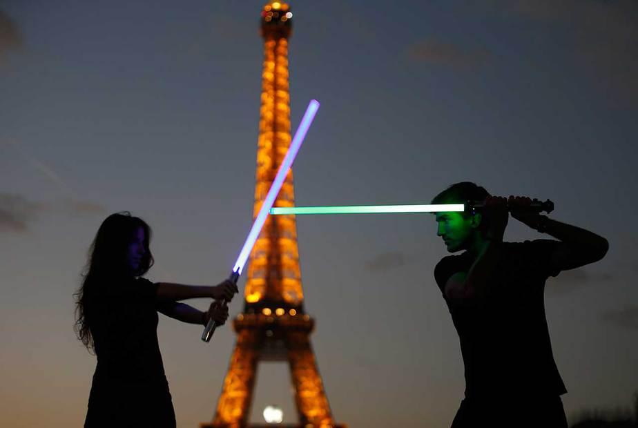40 años de Star Wars en imagenes. Reuters
