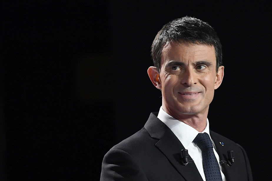 El exprimer ministro francés Manuel Valls. FOTO: Reuters