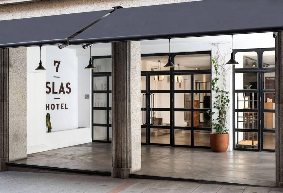 La esencia canaria del hotel 7 Islas de Madrid - Cambio16