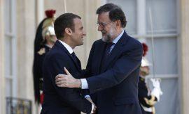 UE - Rajoy - Macron