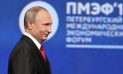 El presidente Vladimir Putin va a la reelección en laselecciones rusas del primer trimestre del 2018
