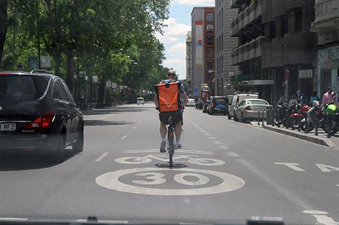 Carril bici de Madrid