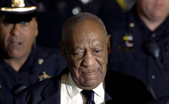 Bill Cosby culpable de tres delitos de agresión sexual