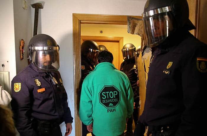 Desahucios en Madrid.
