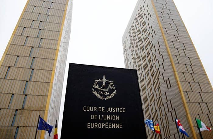 Corte Europea de Justicia en Luxemburgo. FOTO: Reuters