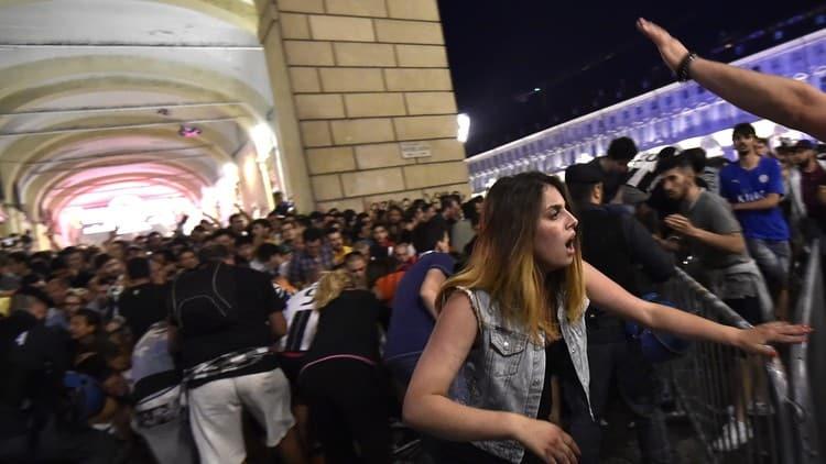 Pánico y varios heridos tras una detonación en la 'fan zone' de la Juventus en Turín (Reuters)