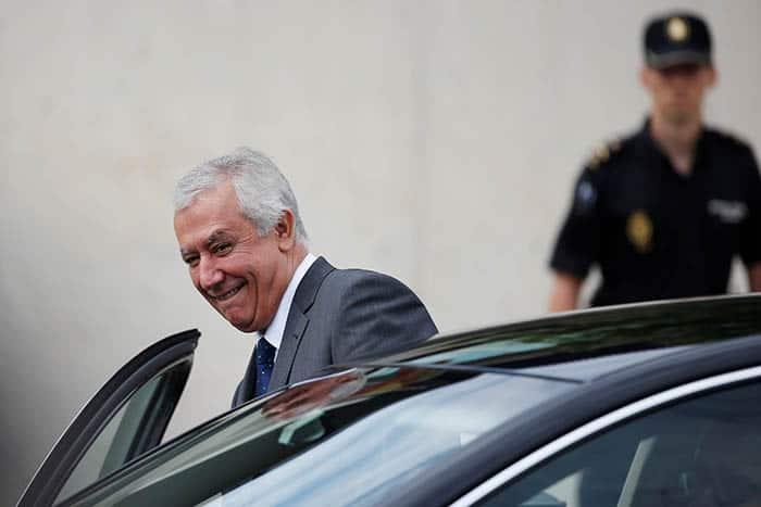 El exsecretario general del PP Javier Arenas. FOTO: Reuters
