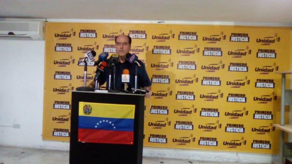 Primero Justicia inhabilitado como partido por la dictadura de Maduro