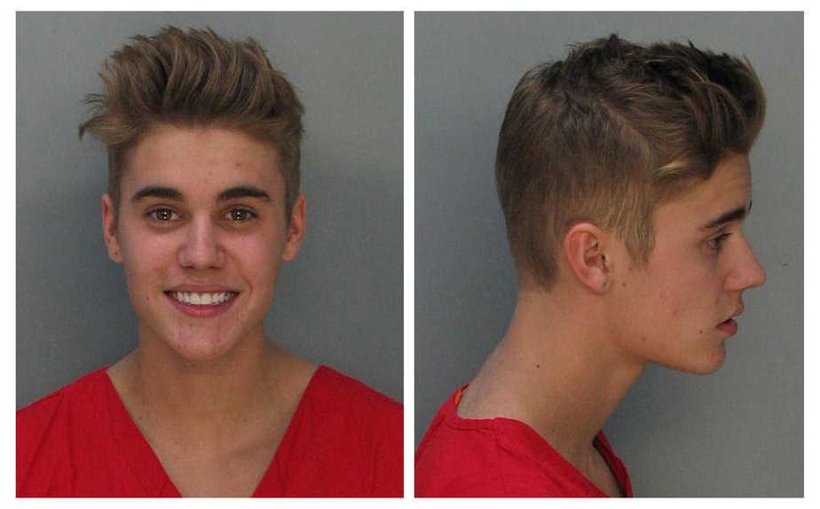 Justin Bieber fue arrestado en el sur de la Florida en una conducción de conducir ebrio después de que fue atrapado en una carrera de autos en una calle principal en un coche de alquiler amarillo Lamborghini alquilado