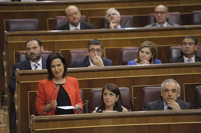 Margarita Robles, portavoz del PSOE en el Congreso. FOTO: Flickr PSOE