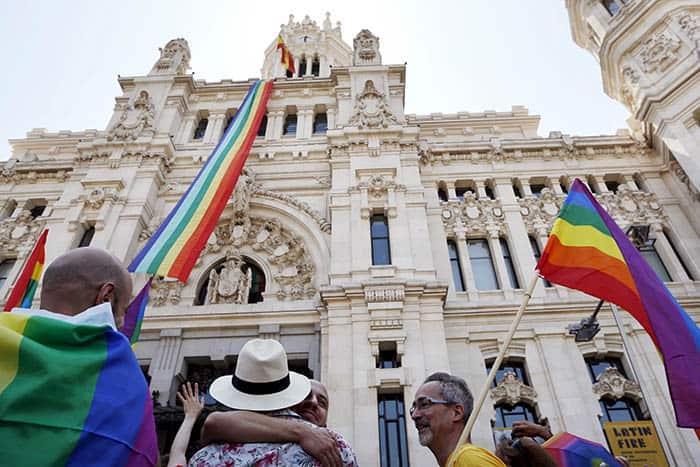 Celebración del Orgullo LGTB en Madrid. FOTO: Reuters