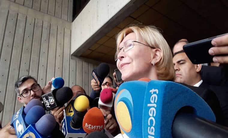 La Fiscal Luisa Ortega Díaz fue destituida por la Constituyente en Venezuela