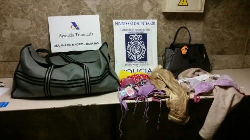 Desarticulación de una red de narcotráfico.  FOTO: Policía