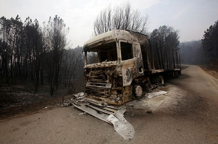 Incendio en Portugal. FOTO: Reuters